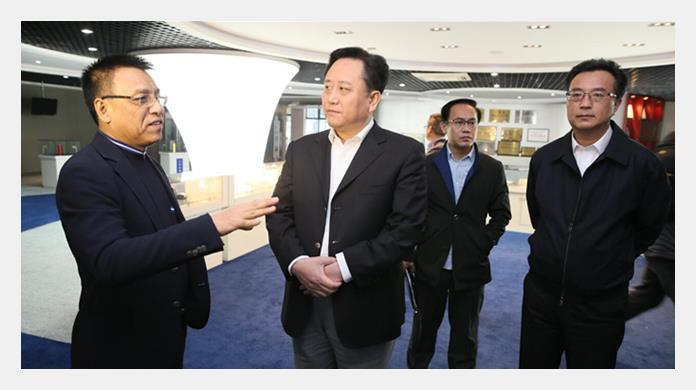 Secretary of Commission of Songjiang, Xiangmin Chen visited Techsun for survey and guidance